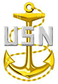 Navy Chief Petty Officer Anchor