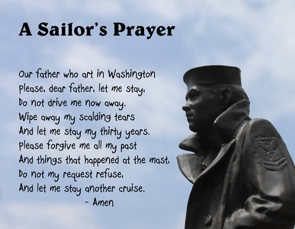US Navy Sailor's Prayer remake