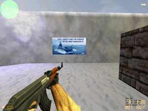 Counter-Strike 1.6 Navy Poster
