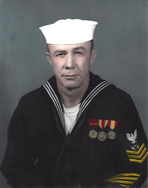 EO1 Fred Gill, United States Navy