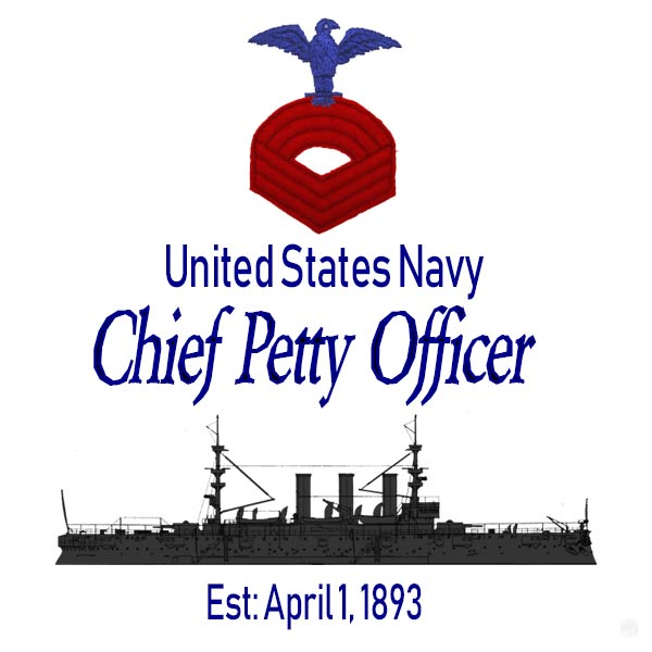 Navy Chief Petty Officer established, April 1, 1893