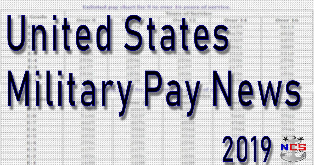 2019 military pay raise