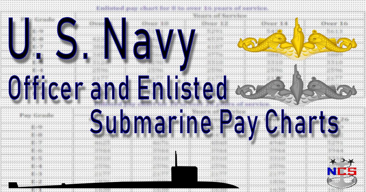 U S  Navy Submarine Pay Chart