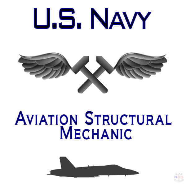 Navy Aviation Structural Mechanic rating insignia