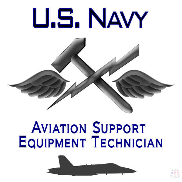 Navy Aviation Support Equipment Technician rating insignia