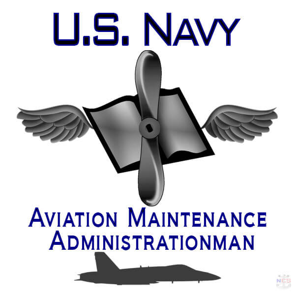 Navy Aviation Maintenance Administrationman rating insignia