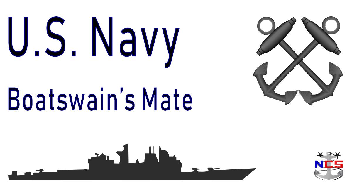 Navy Boatswains Mate Rating