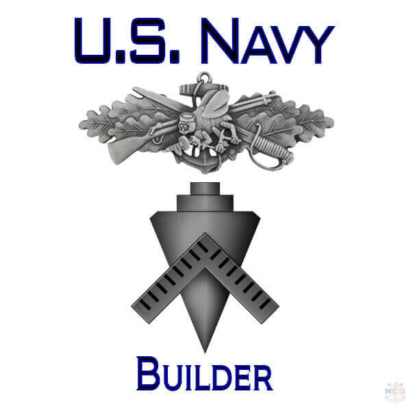 Navy Builder rating insignia