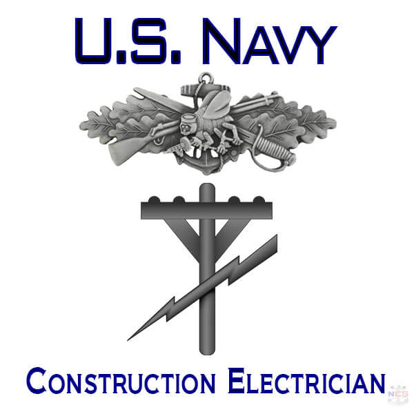 Navy Construction Electrician rating insignia