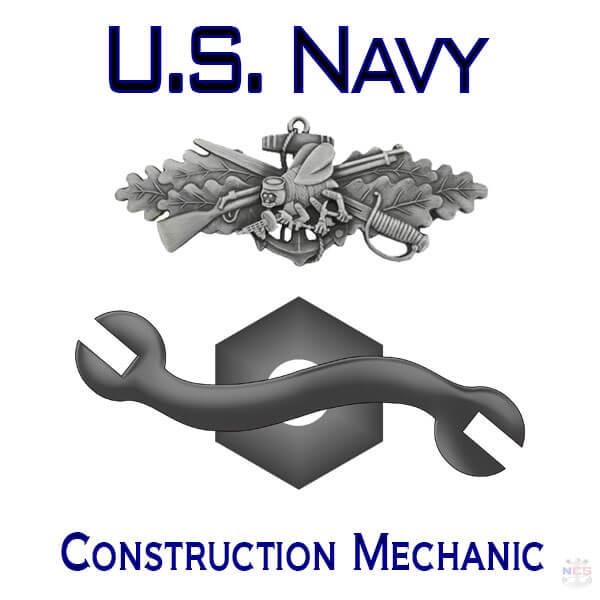 Navy Construction Mechanic rating insignia