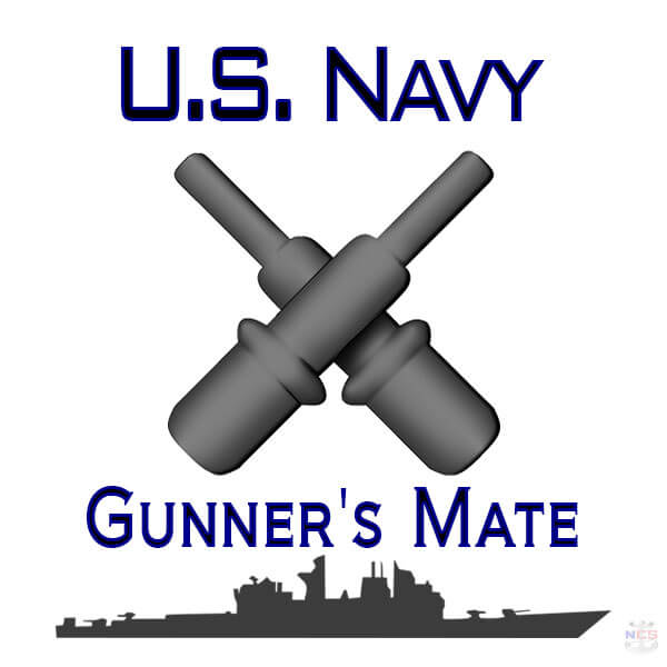 Navy Gunner's Mate rating insignia