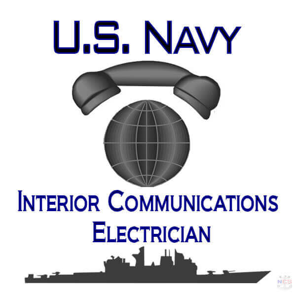 Navy Interior Communications Electrician rating insignia