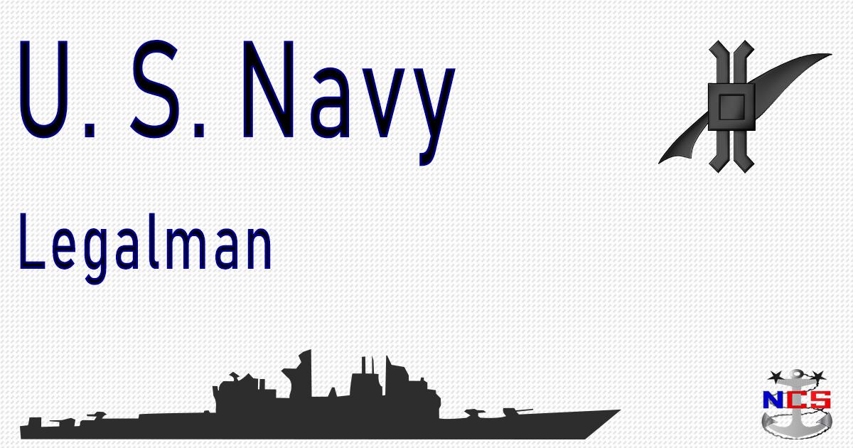 navy legalman rating