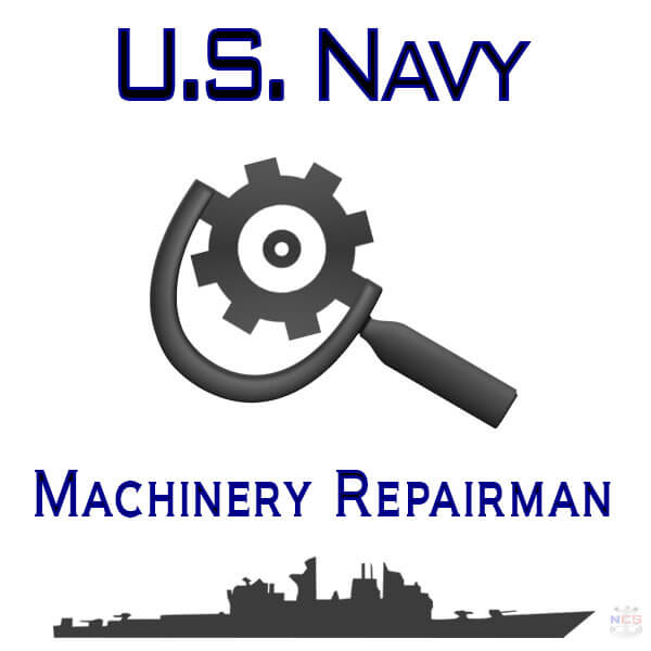 Navy Machinery Repairman rating insignia