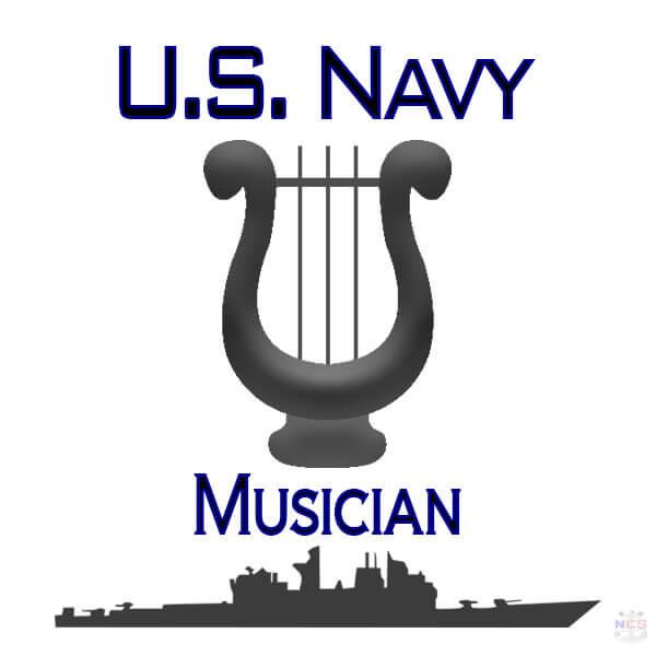 Navy Musician rating insignia