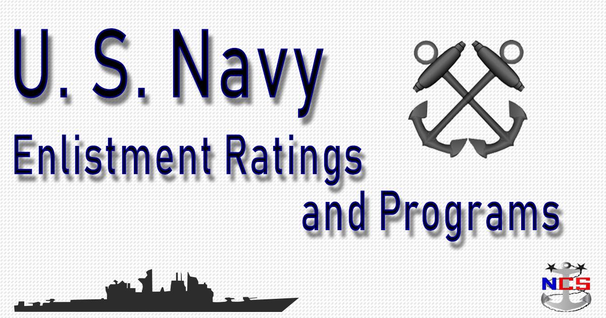 Navy Jobs Programs For Enlistment
