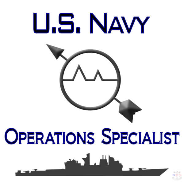 Navy Operations Specialist rating insignia