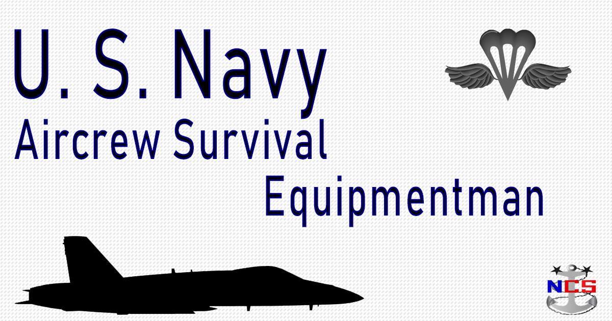 Navy Aircrew Survival Equipmentman Rating