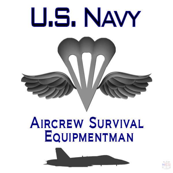 Navy Aircrew Survival Equipmentman rating insignia