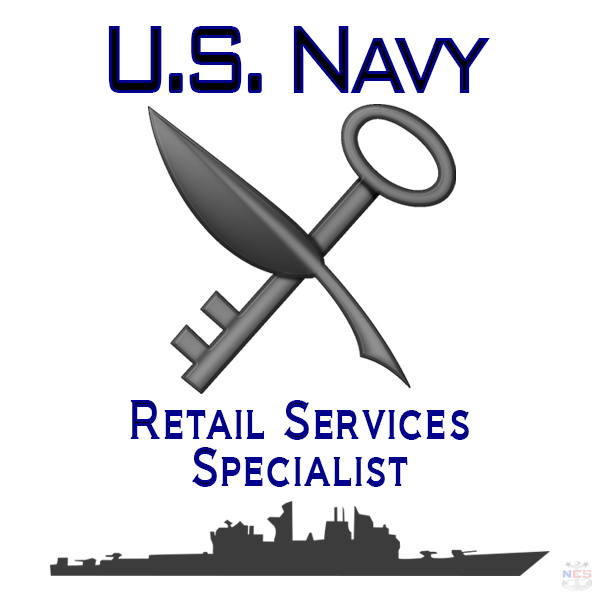 Navy Retail Services Specialist rating insignia