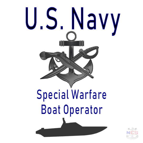 Navy Special Warfare Boat Operator rating insignia
