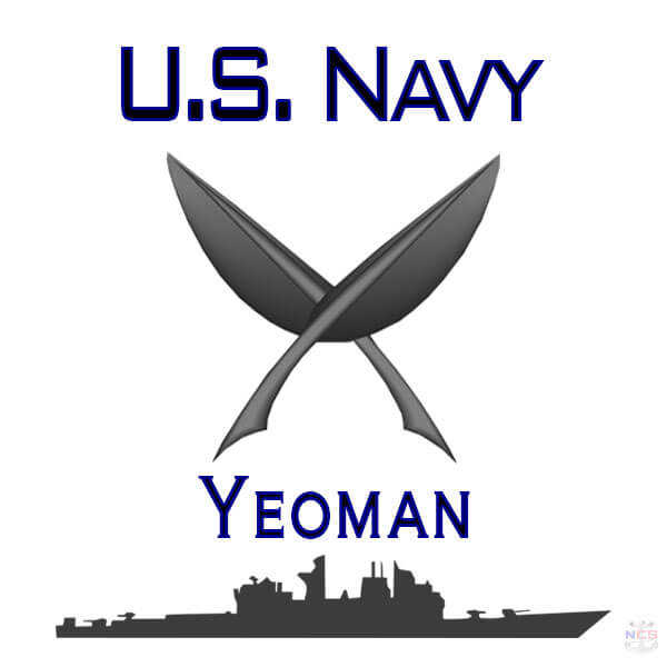 Navy Yeoman rating insignia