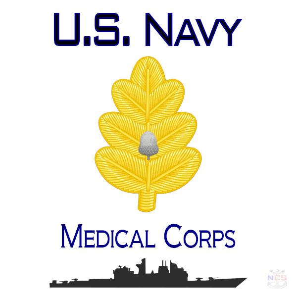 Insignia de Oficial del Cuerpo Médico de la Armada