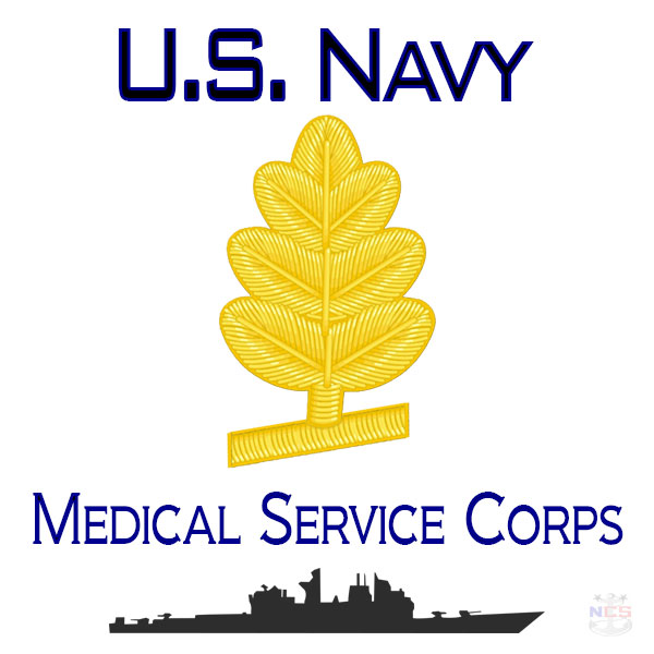 NavyMedical Service Corps Officer insignia
