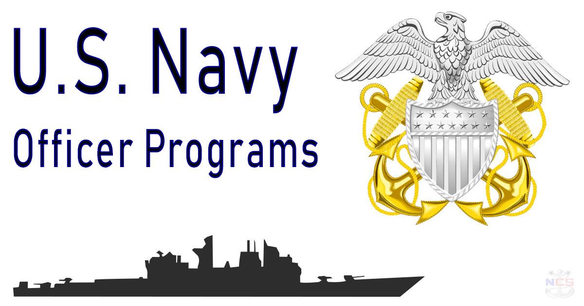 United States Navy Officer Programs